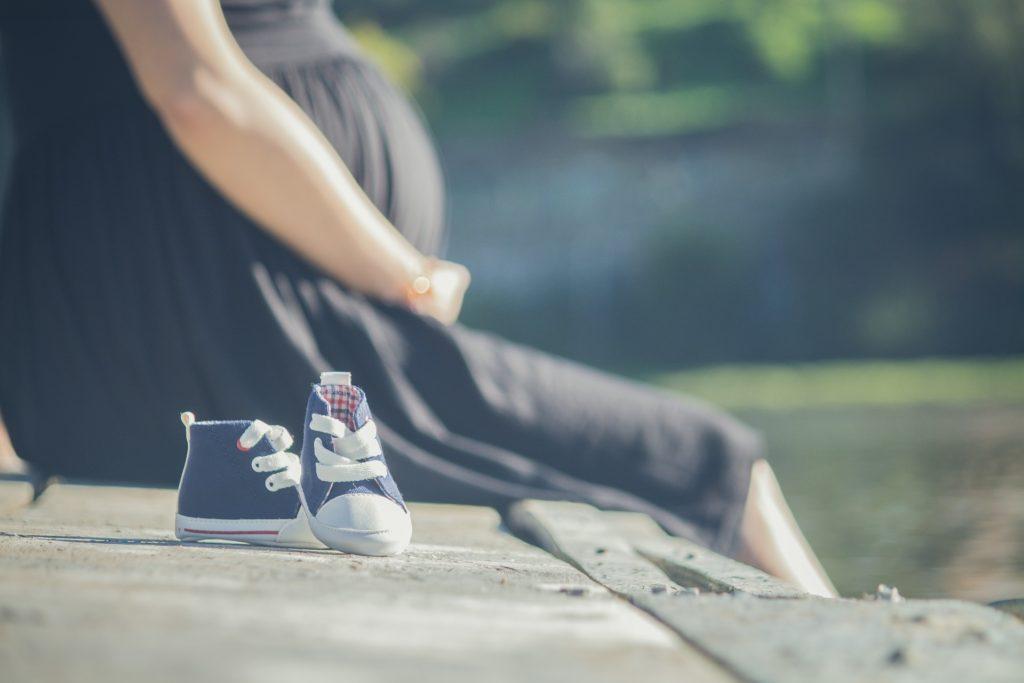 子供を待ちわびる妊婦さん