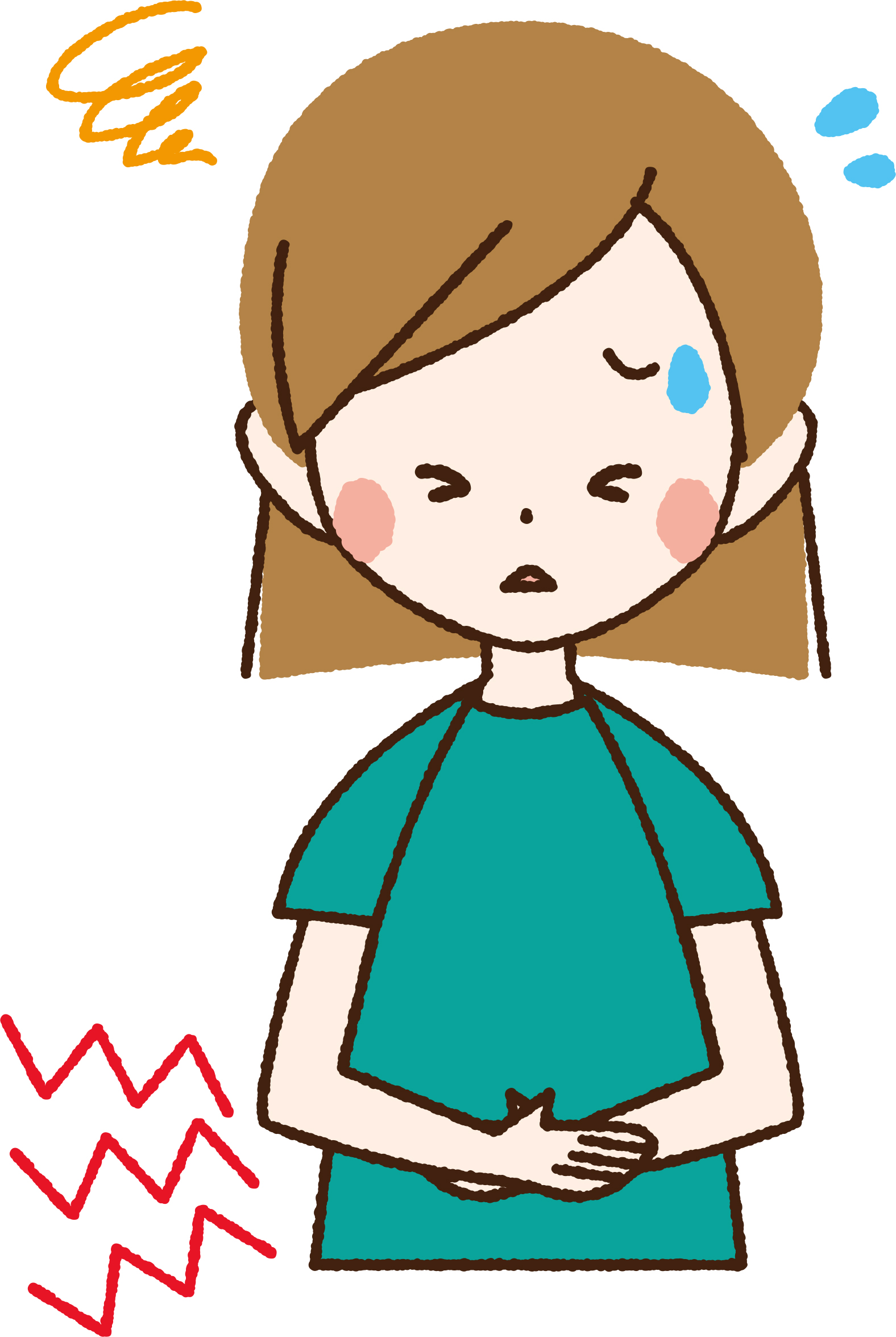 妊婦陣痛腹痛