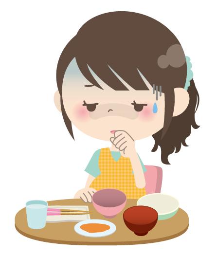 つわりでご飯が食べられない妊婦