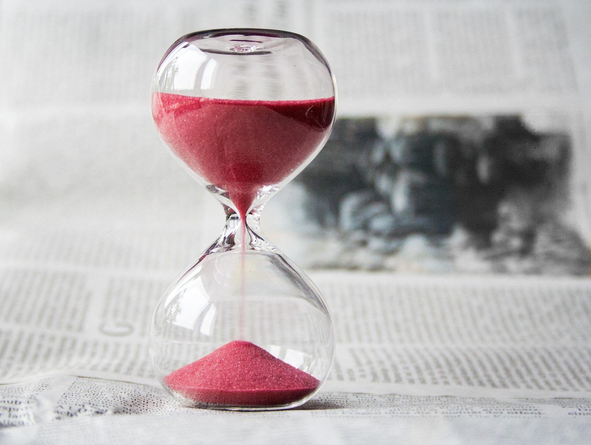 時間砂時計