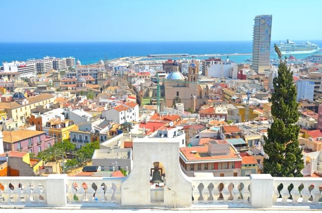 スペインの街並み
