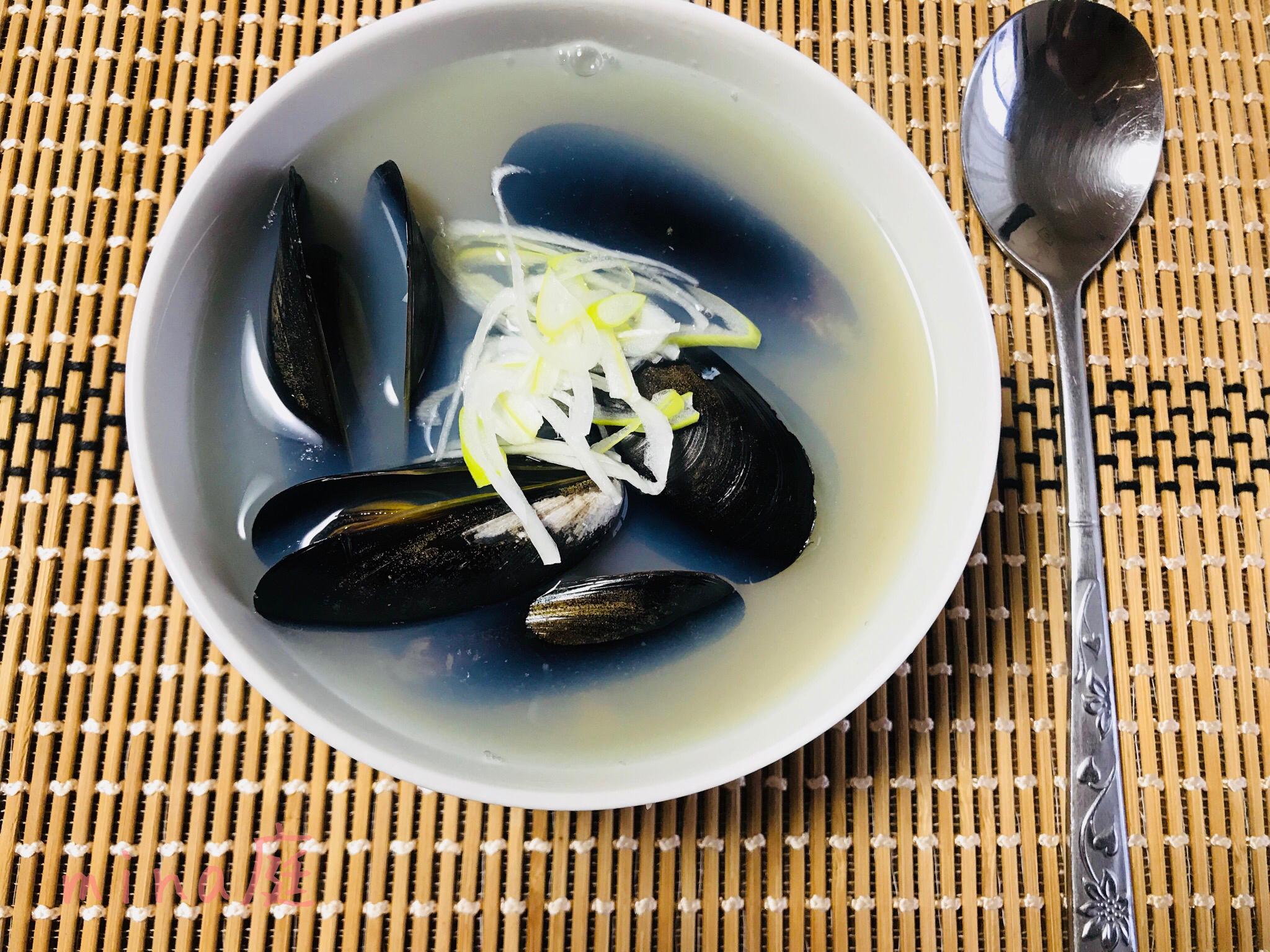 韓国のムール貝スープ ホンハプタン