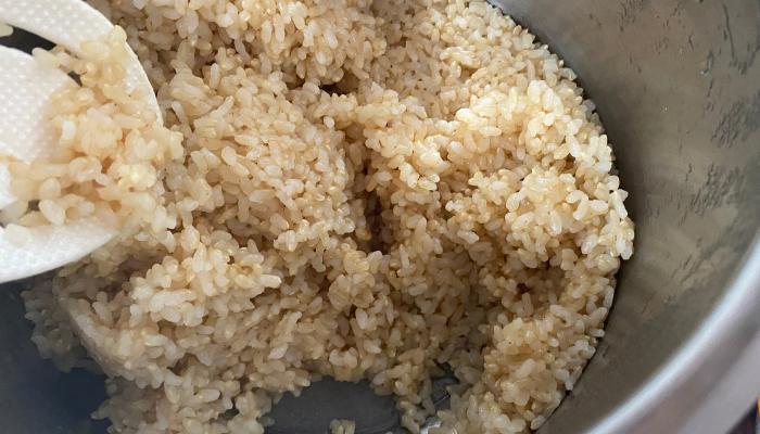 焦がさない玄米の炊き方